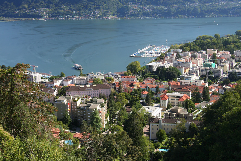 Locarno - Lago Maggiore -- City and waterfront
