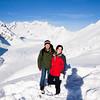 Katie and I on Aletschglacier.