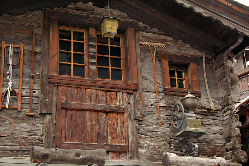 This was one of the more interesting buildings in the old section of Zermatt.