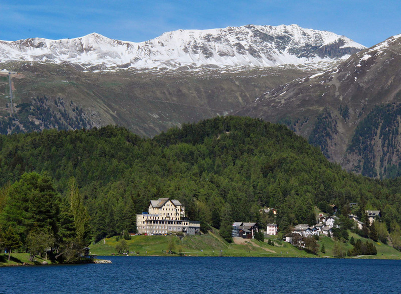 Lake St. Moritz.