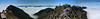 This panorama of Mt. Pilatus is 7 combined images, and shows a 213 degree wide field of view.