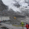 Jungfraubahn - this is the Eigergletscher railway station, which is located at the edge of the glacier.  The train passes into tunnels after this stop.