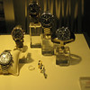 Bern - some of the expensive Watches on display in a shop window.  The Watch priced at Ch$7900 is equivalent to CAD$8,435.