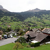 Grindelwald - another view of some of the houses in the town.