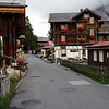 "Mürren - another view of the main street.  This was taken in the late afternoon on a somewhat ""chilly"" day, so there were no pedestrians at all."