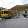 Grindelwald - this is the compact and tidy rail station in the resort town of Grindelwald.