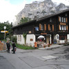 "Gimmelwald - this is the Pension and restaurant.  There's also an ""Honesty Store"" at the front left of the building.  Customers wanting to buy merchandise simply put the money in an envelope and deposit that in a small box.  There are no sales staff."