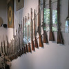 Bern - some of the displays at the Swiss Rifle Museum.