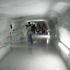 Jungfrau - this is one of the passageways in the Ice Palace.