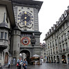 Bern - a unique Clock in one of the streets.