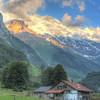 the alps neat Lauterbrunnen