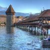 old bridge in Lucerne
