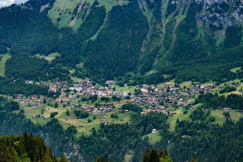 Wengen- our base to the Alps