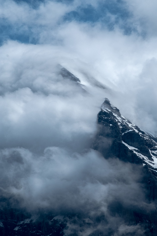 Clouds around the Eiger