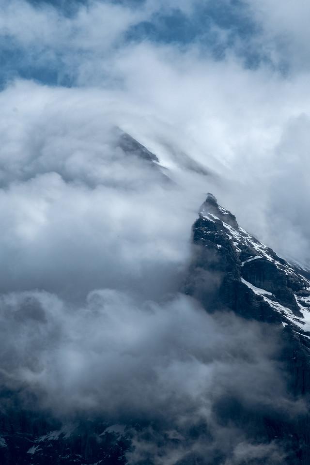 Clouds around the Eiger