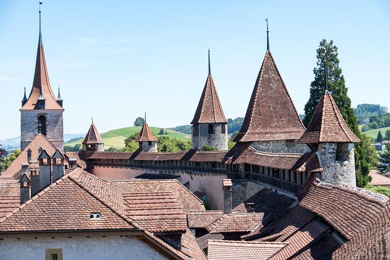 Walls of Murten/Morat
