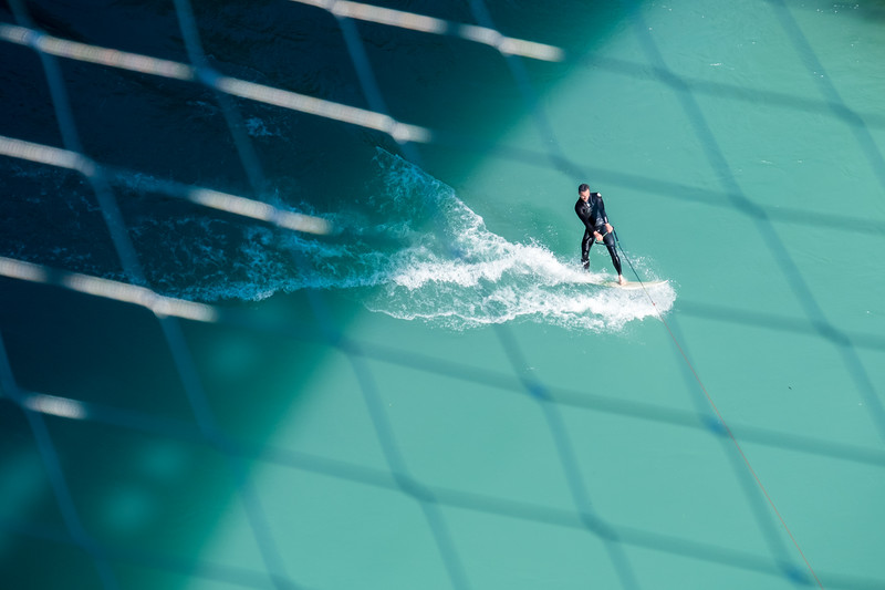Surfing the Aare