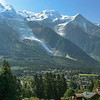 A walk along the Chamonix valley en route to the Brévent cable car