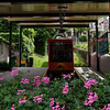 Switzerland / Lugano - this is the Mount San Salvatore Funicular.  The trip to the top only takes a few minutes.