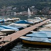 Switzerland / Lugano - this is part of the harbour area looking across to the nearby community of Paradiso.  Unfortunately the weather was overcast at the time.