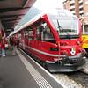 Switzerland / Tirano - this is one of the modern Bernina Express trains.