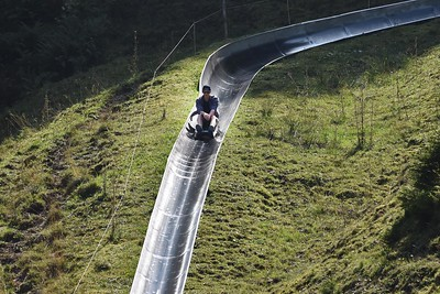 Luge run, Mount Pilatus