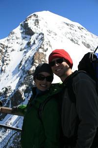 Top of the Jungfrau.