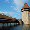 Kappelbrucke, Luzern. Dates back to the 1500s.