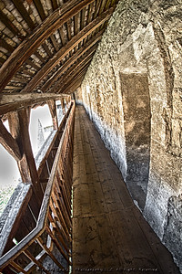 inside Chillon Castle