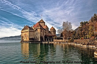 Le Chateau de Chillon in all splendor.