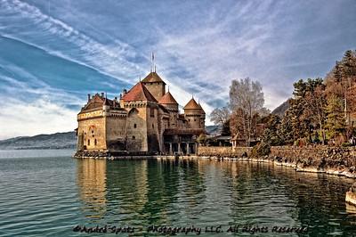 Le Chateau de Chillon in all splendor.