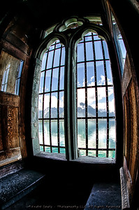From Inside the Chillon Castle