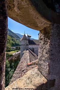 Inside Chillon Castle
