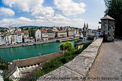 Zurich: views from the Old Town