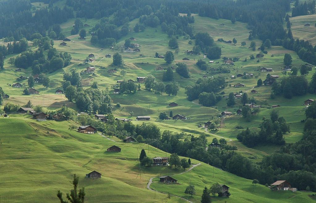 south of Chur