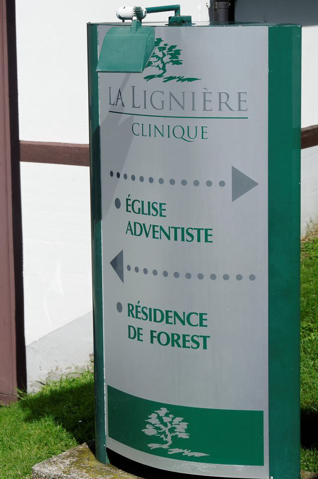 La Ligniere, clinique<br /> Le bâtiment (edificios)