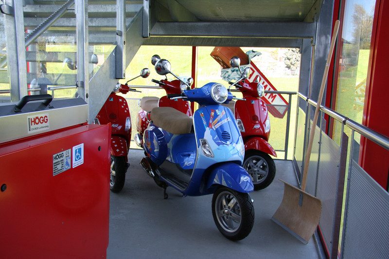 Vespa in SchoggiLand look like this.