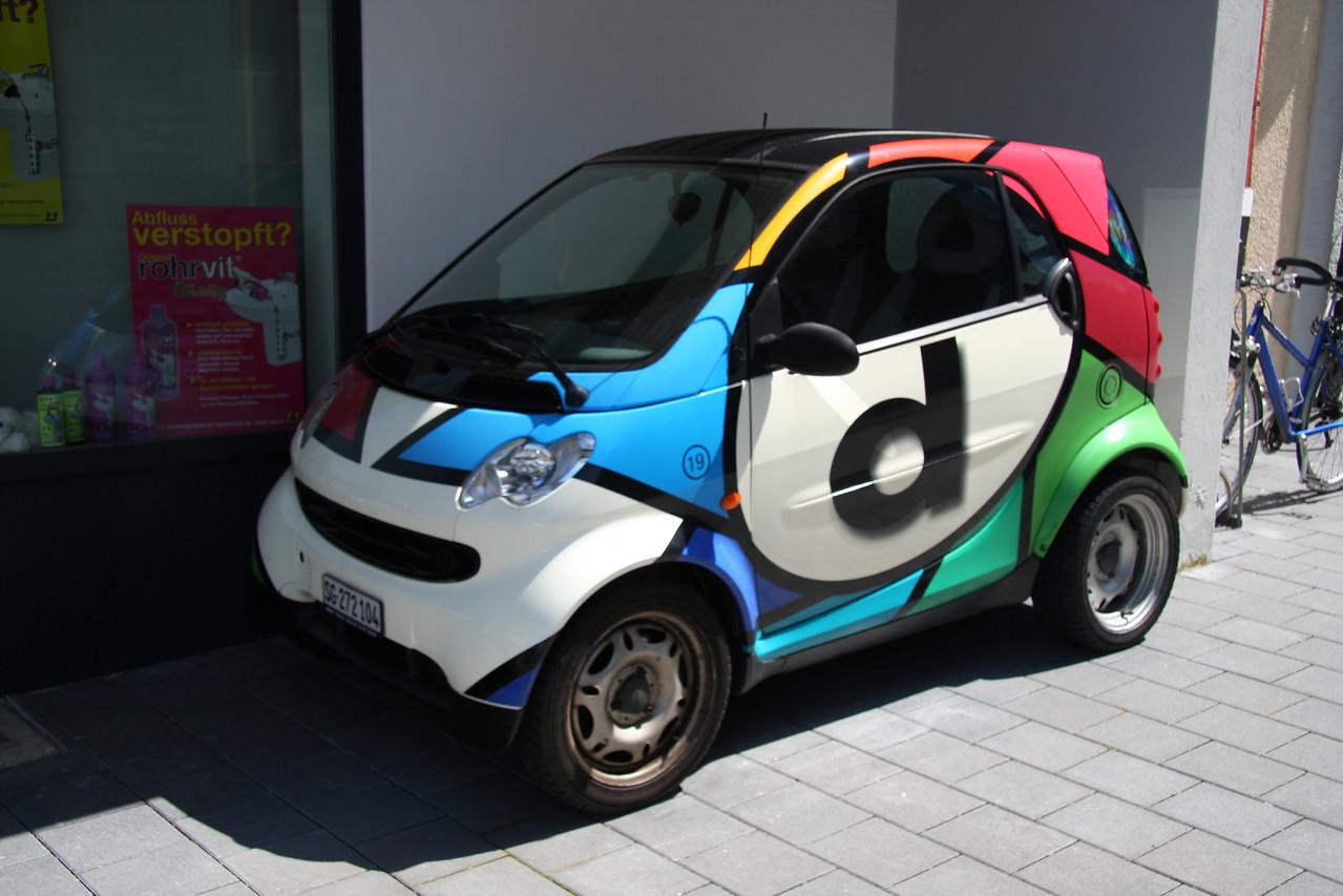 Funky Smartcar.