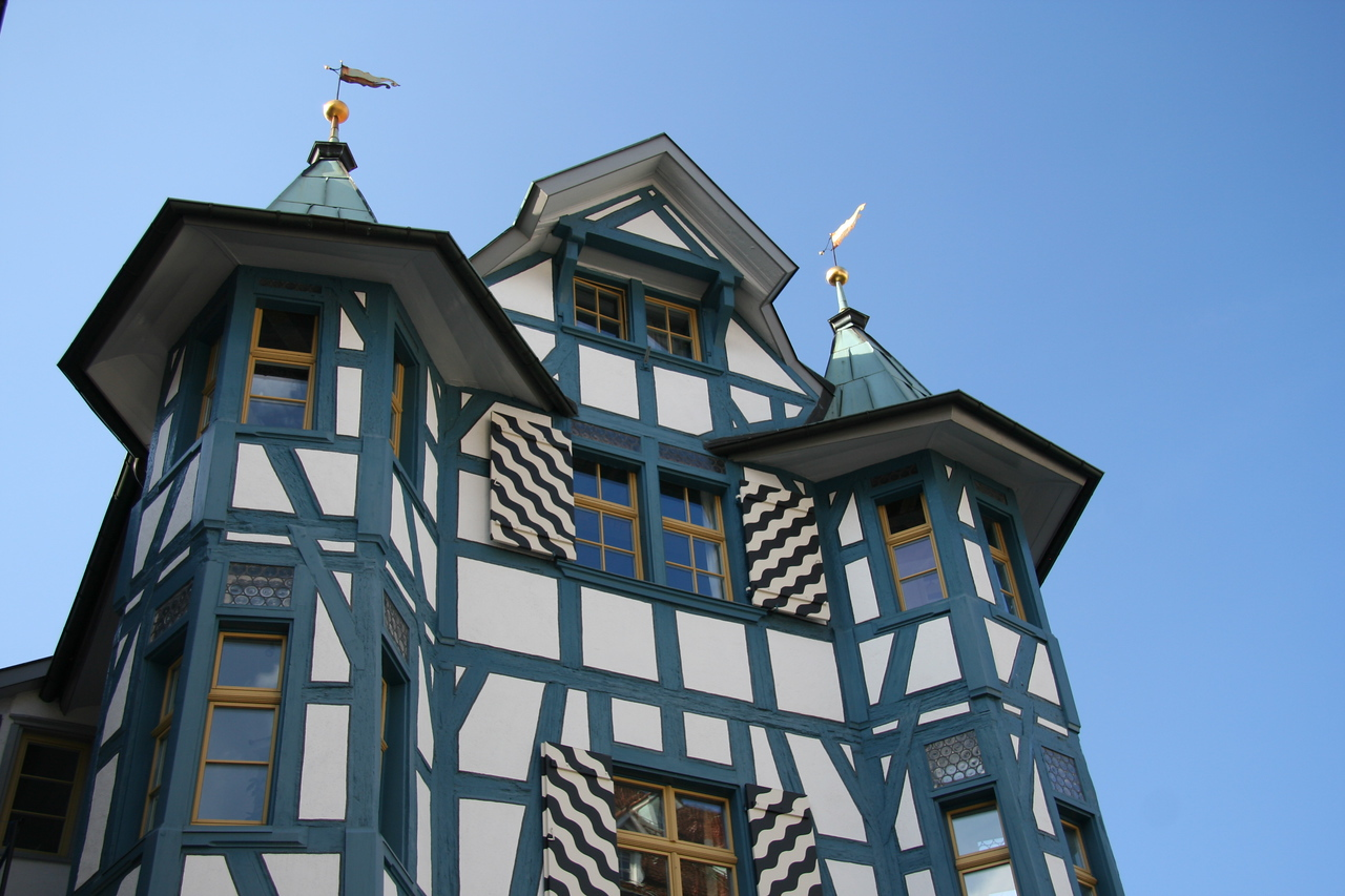 Cool house in St. Gallen.