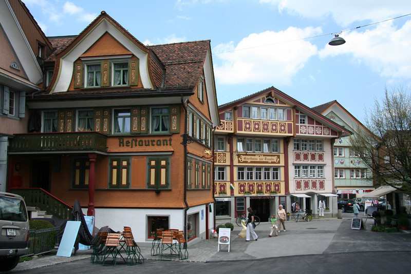Around town in Appenzell.