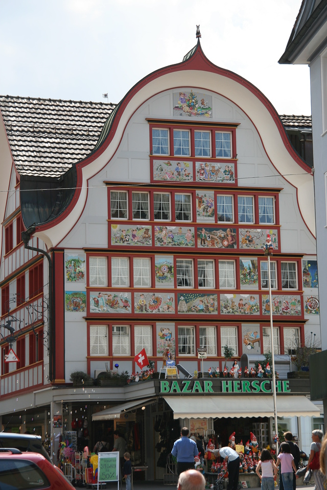 Toy store in Appenzell.
