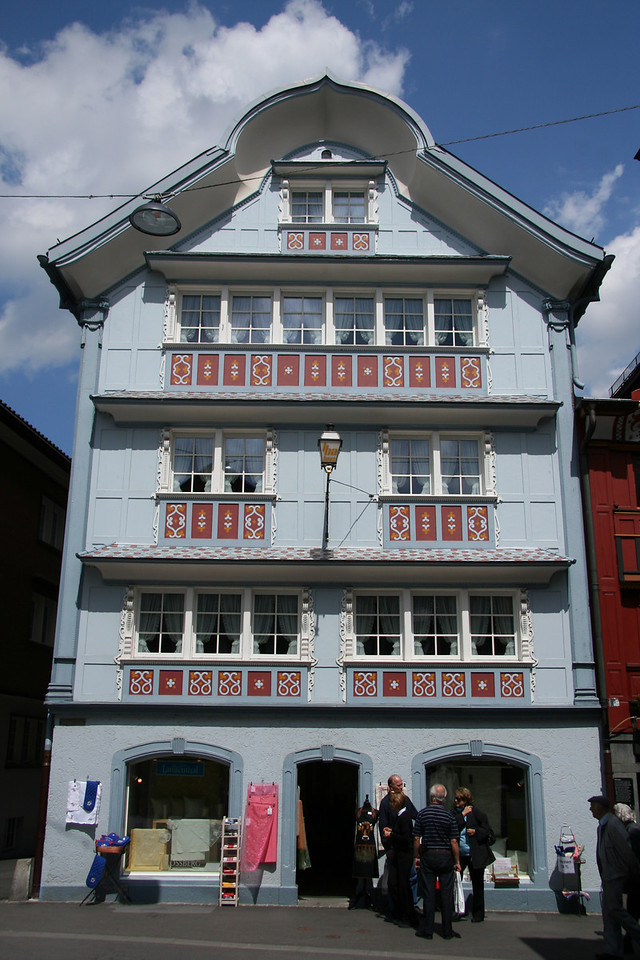 Another cute house in Appenzell.