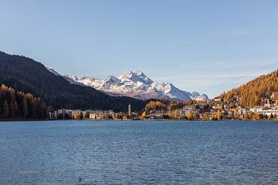 Grisons: Mountains, lakes and golden Trees.