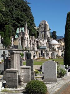 Cemetery in Locarno