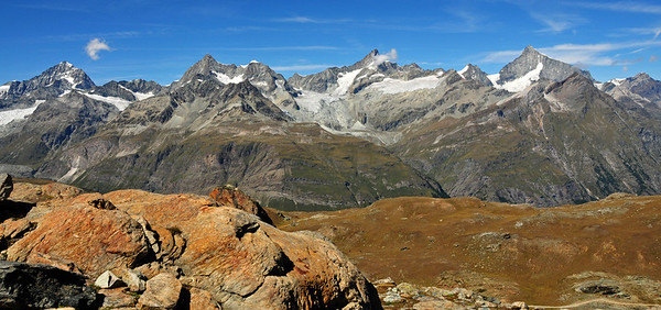 Climbing the Riffelhorn