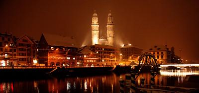 Limmatwaterside in Zürich