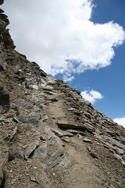 This path looks eerily similar to the first one I climbed. But wait...