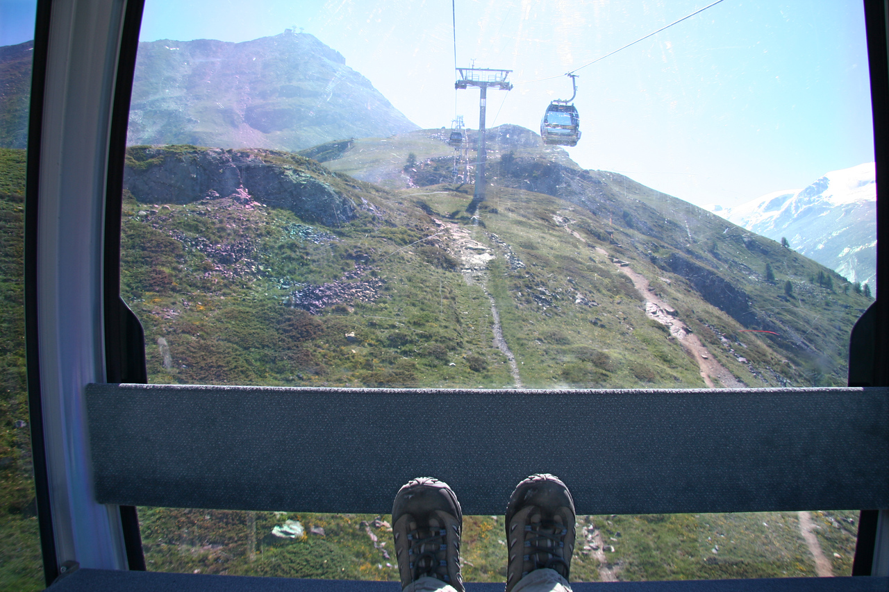 I had my own gondola to myself nearly every time I got on.