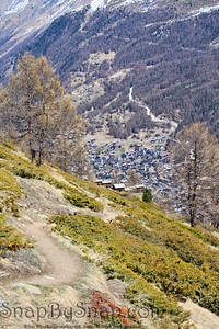 Hiking Trails over Zermatt