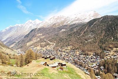 Hiking Trails over Zermatt